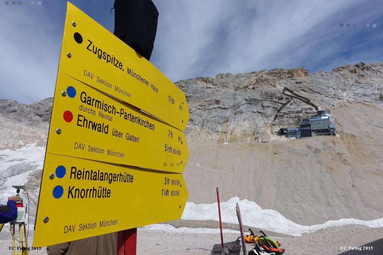 Klettersteig Zugspitze Schwierigkeitsgrad : Zugspitze münchner hausberge